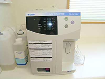 【自動血球計算機・ヘモグロビンA1c・精密血糖測定器】